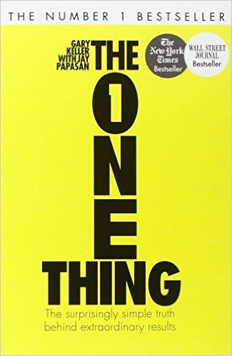Get Results: the one thing book cover
