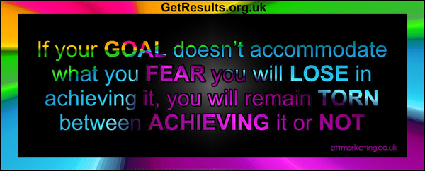 Get Results: Is Fear holding you back