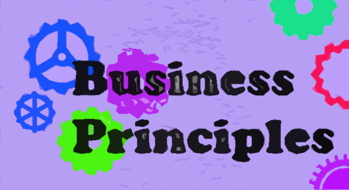 Get Results: Business Principles