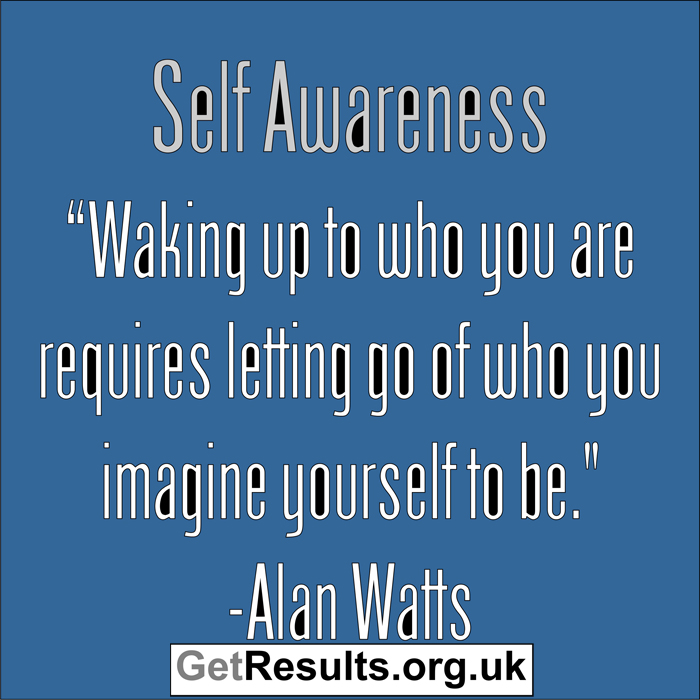 Get Results: Self Awareness
