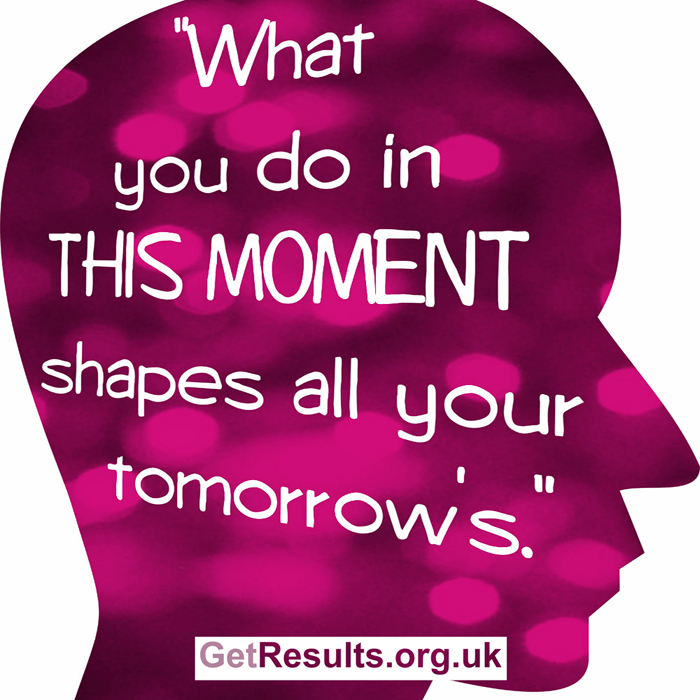 Get Results: what you do in this moment