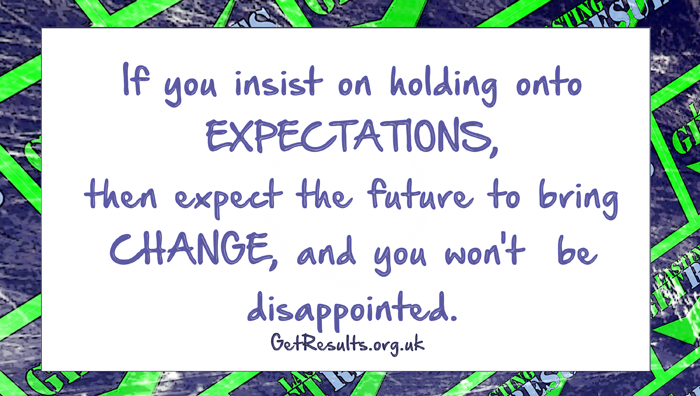 Get Results: expect change