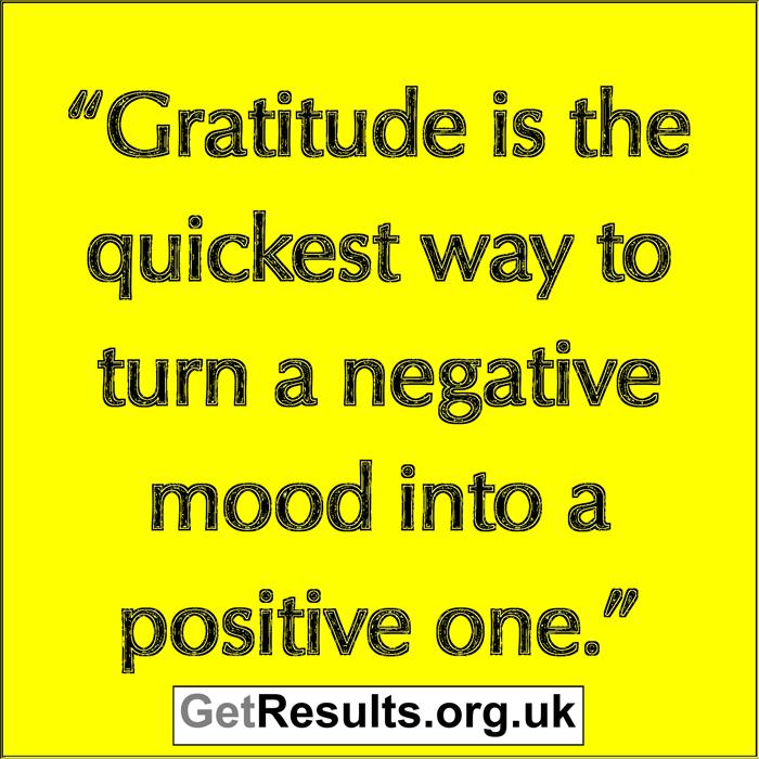 Get Results: gratitude changes mood