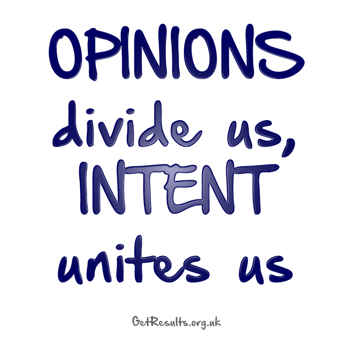 Get Results: opinions divide us