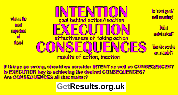 Get Results: intent execution consequences