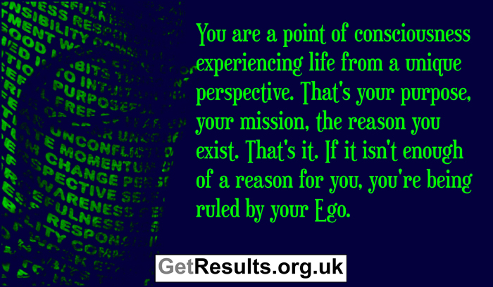 Get Results: spiritual quotes being ruled by the ego