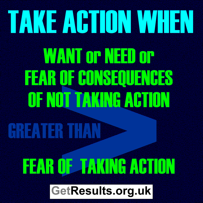 Get Results: taking action requirements