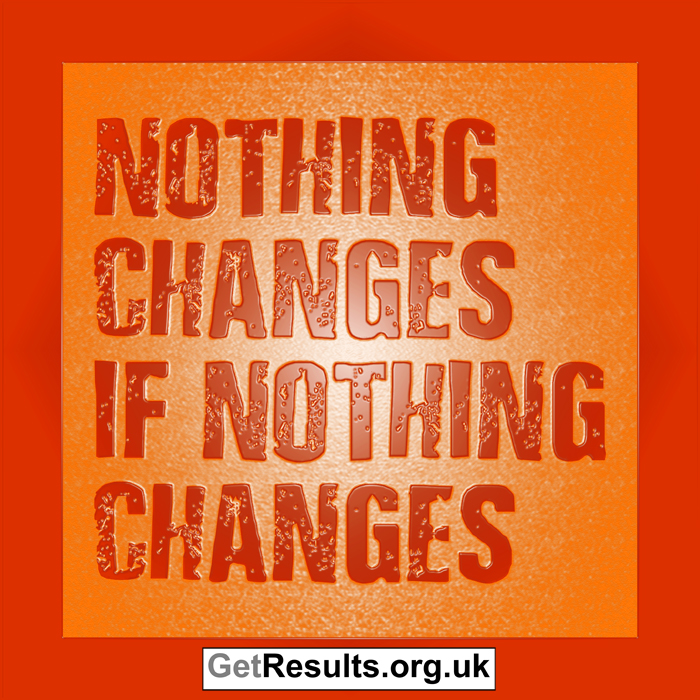 Get Results: nothing changes if nothing changes