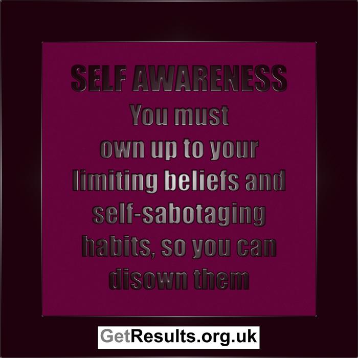 Get Results: self awareness