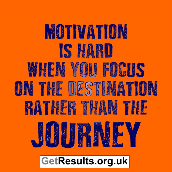 Get Results: love the journey