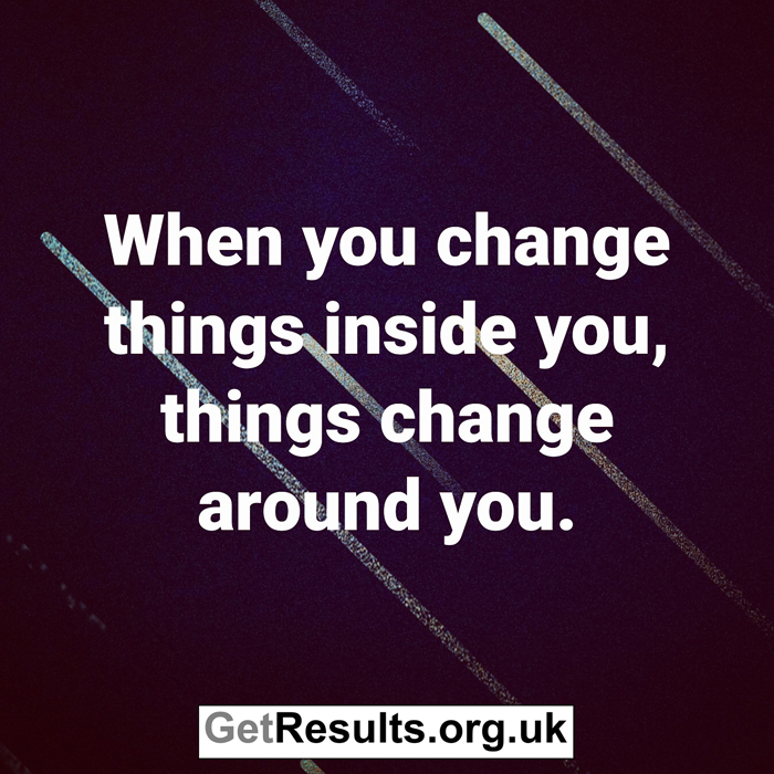 Get Results: when you change inside